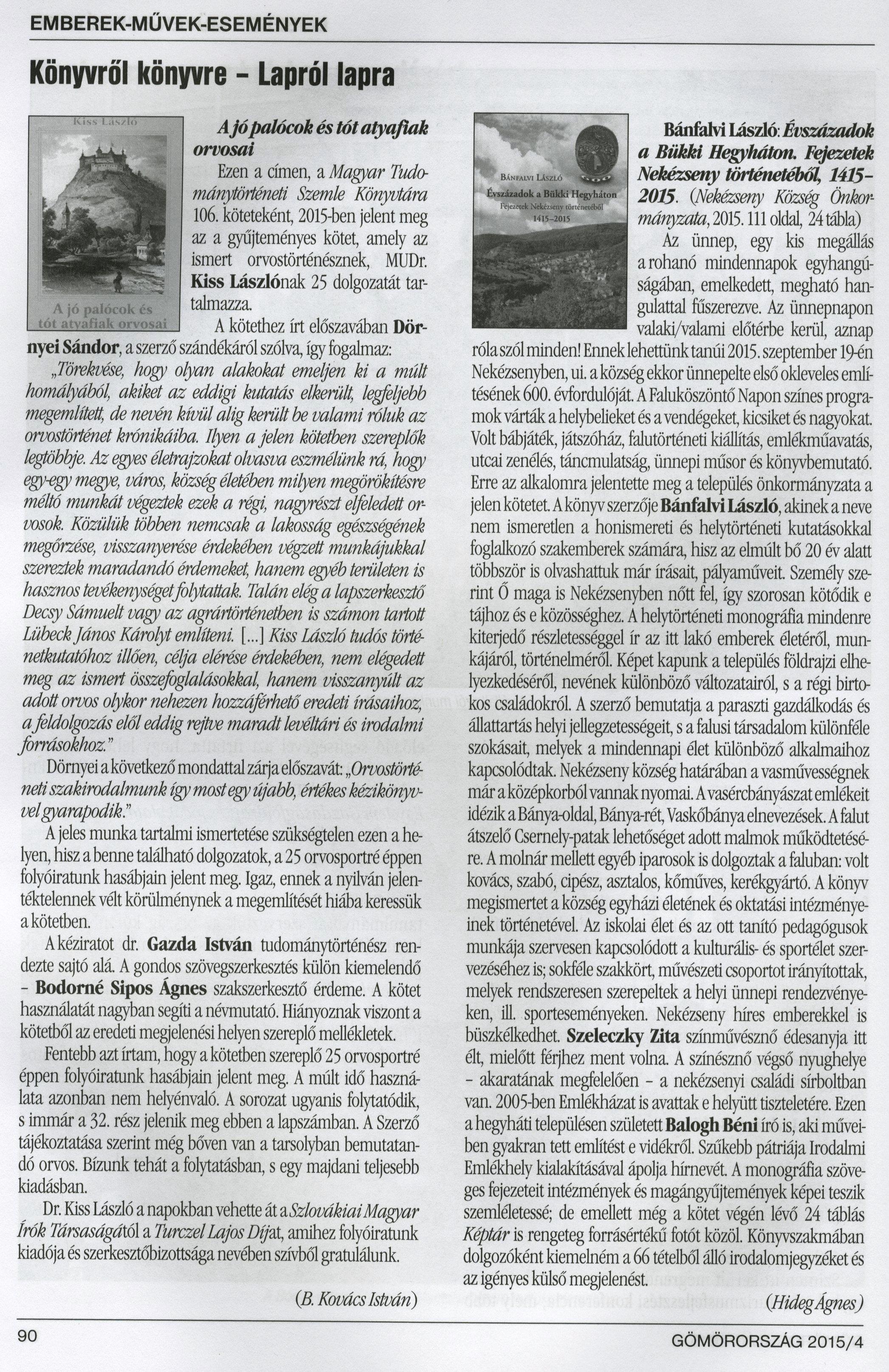 Gömörország-könyvism