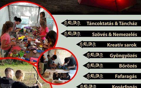 Hunnia gyermekei – nekézsenyi gyerekek a táborban