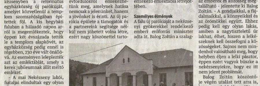 A Hálaadó Nap a sajtóban